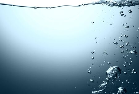 Water with air bubbles Stock Photo - 18317021
