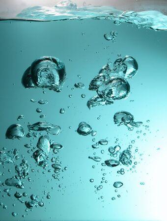 Víz légbuborékok Stock fotó