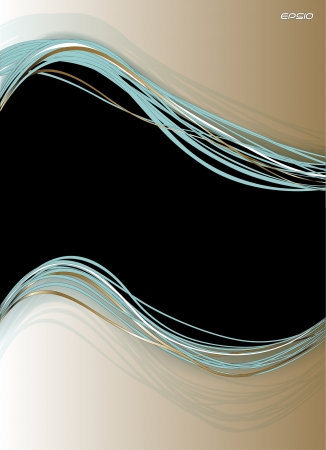Vector abstract banner Stock Photo