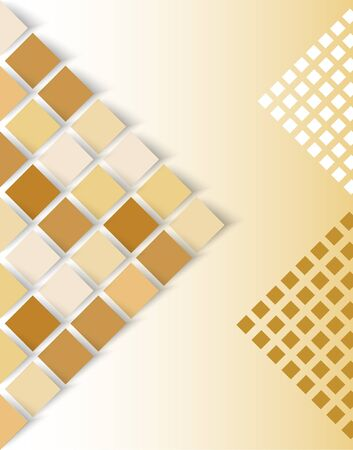 Light background with a sand-colored tiles