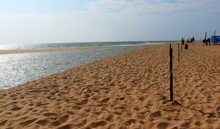Sand On Beach Imagens