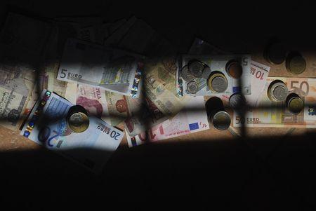 economic crisis. economy imprisoned by speculation photo