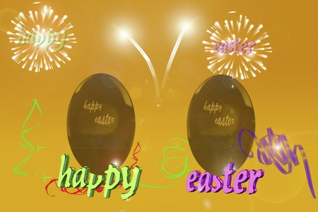 Feasts and religious celebrations.Happy easter.Conceptual image photo