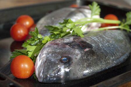 sautee: Cibo italiano. Wellness e salute. Il pesce fresco