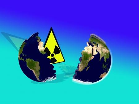 radiactividad: radiactividad en la imagen del mundo abstracto y conceptual