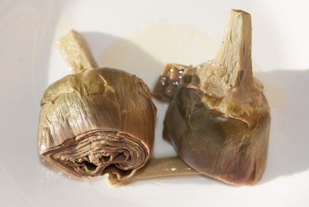 artichokes at the giudia, an typical recipe of Rome