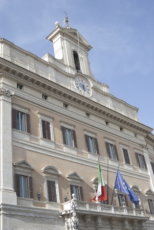 congressman: Rome: Montecitorio Palace the Parliament building