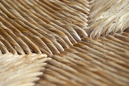 cane chair: Patterns:detail of a cane chair Stock Photo