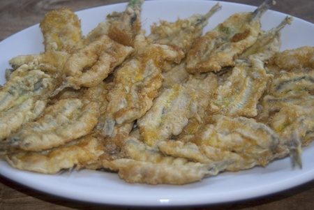 bluefish: italian flapjacks of anchovies
