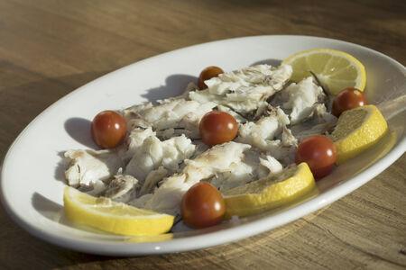 traditinal: traditinal  mediterranean fish: stew fillet umbrina