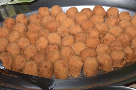 traditinal: traditinal  Italian dish:rice croquettes
