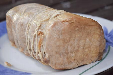 traditinal: traditinal  Italian food. Roasted pork