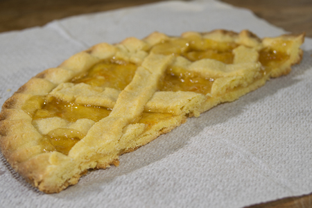 homemade desserts and sweets: marmelades tart photo