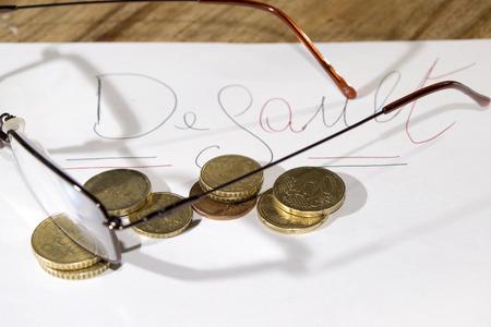 default: concept of economic and monetary  default