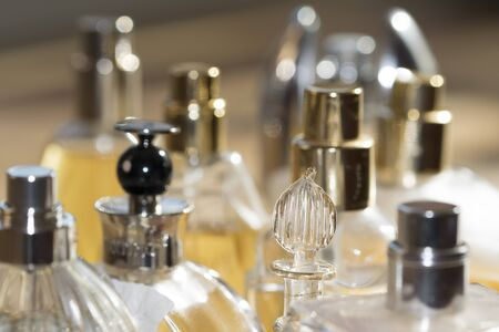 perfumery concept: concept of elegance charm glamour and fashion