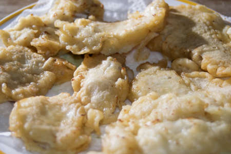 codfish: battered and fried codfish fillets