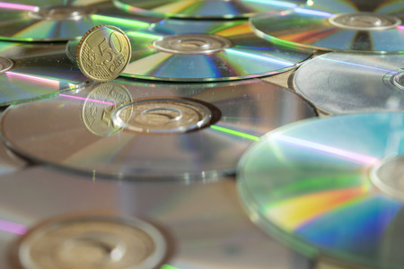 cd rom: monetary system and concept of economy with cd rom and one money