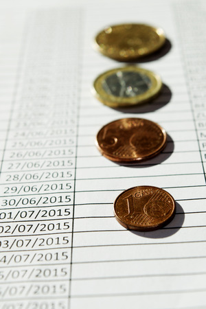 hoja de calculo: concepto de Stare contable a trav�s de una hoja de c�lculo y un poco de dinero