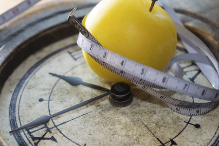 concept of slimming  and detoh diet and personal wellness Archivio Fotografico