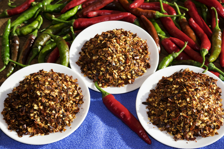 crushed red peppers: crushed red pepper of calabria
