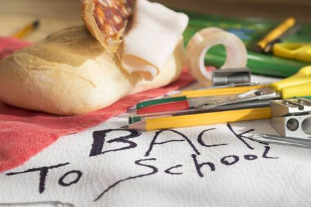 scholastic: back to school through some scholastic tools and the snack