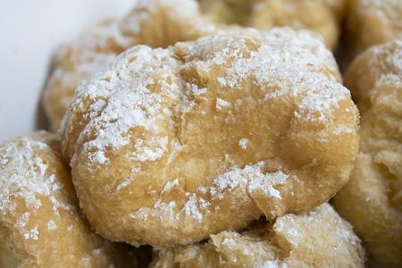 st  joseph: italian cream puffs with custard filling or st. joseph's day pastries