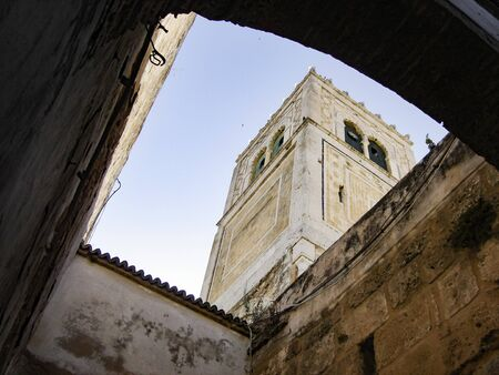 typical architecture in the Tunis city