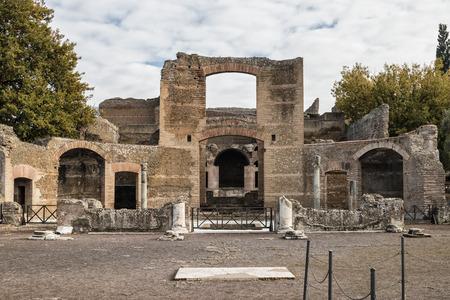 lazio: Villa Adriana, Tivoli, Lazio, Italy Stock Photo