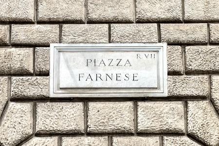 teaches: Marble teaches That Indicates Farnese Square