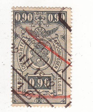 repayment: Belgian brand in 1932 repayment Stock Photo
