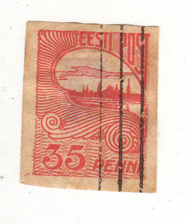 forwarding: the image of the city on the red brand, price 35 penny