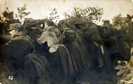 overcoat: the photo in the trenches of world war 1