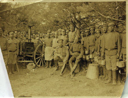world war 1: on the fronts of world war 1 Stock Photo