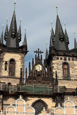 spires: Prague, towers, spires