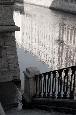 st  petersburg: St. Petersburg, embankments, canals, bridges, canal Griboedov Stock Photo