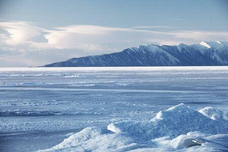 hummock: hummocks lake Baikal at the boundary of the Barguzin reservation