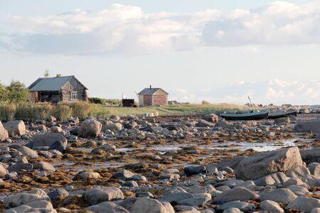 ebb: North Russia, White sea, maximum ebb