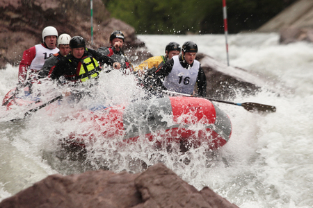 competition on the river Belaya