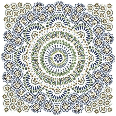 islamic pattern: Seamless pattern in islamic style  Illustration
