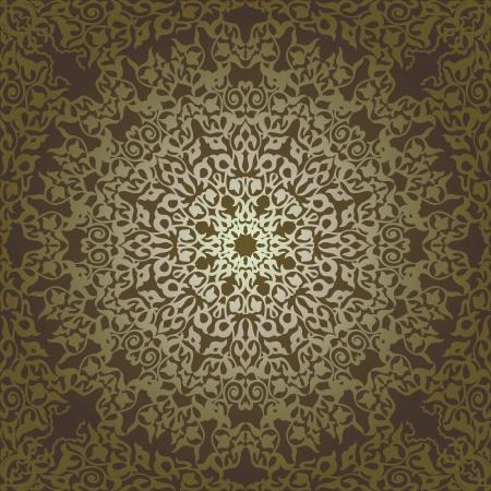 모자이크 민족 style.Vector 일러스트 레이 션 빈티지 배경 전통적인 오스만 motifs.Decorative 다채로운 원활한 패턴 일러스트