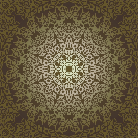 Vintage Background Traditional Ottoman motifs.Decorative colorful seamless pattern in mosaic ethnic style.Vector illustration 矢量图像