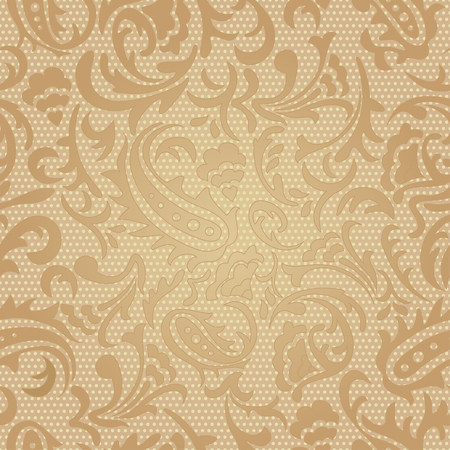 Seamless pattern   Paisley colorful background Vector illustration Illustration