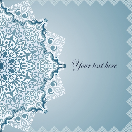 Fondo De La Vendimia ilustración tradicional motivos Otomano Vector