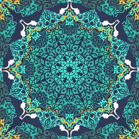 motifs: Vintage Background Traditional Ottoman motifs.