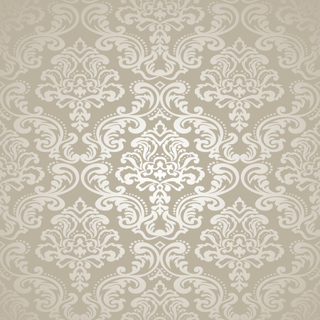 interior wallpaper: Seamless pattern background  Damask wallpaper