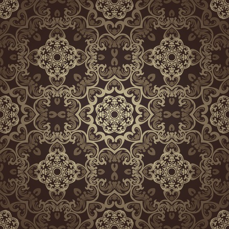 원활한 벽지. 이슬람 모티브 배경입니다.