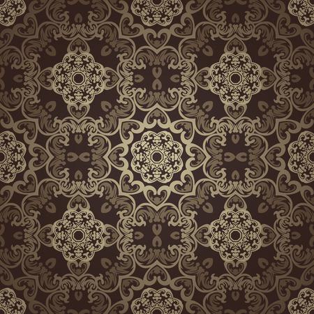 Seamless wallpaper. Islamic motif background. 免版税图像 - 31789342