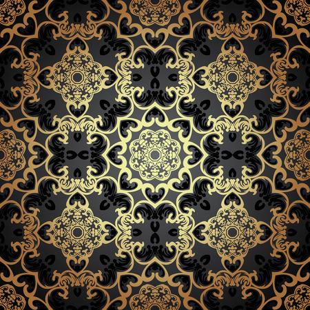 빅토리아 스타일에서 원활한 패턴입니다.