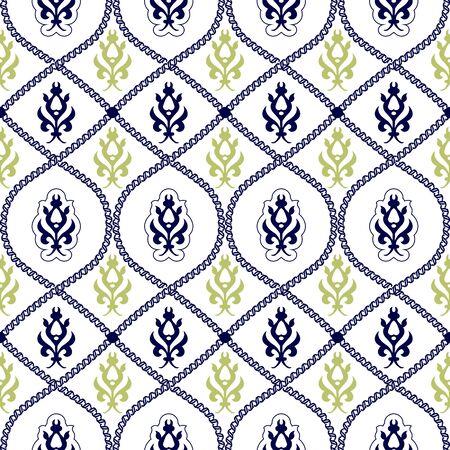 아라비아 스타일에서 원활한 패턴 배경입니다.