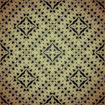 Seamless patterns in arabian style.Geometric textures. Vector illustration Иллюстрация